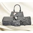 Сет от пет части чанти велур кожа BAG65 4