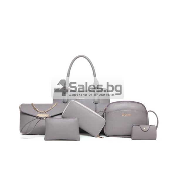 Бутиков шик с комплект чанти от шест части BAG64 2