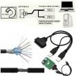 USB към SATA свързващ кабел CA100 6