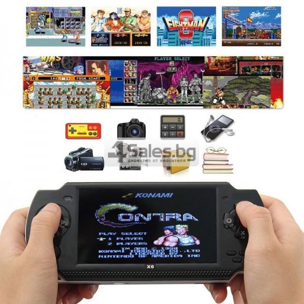 Конзола за игри с 8 GB памет, 4,3 инча дисплей PSP21 2
