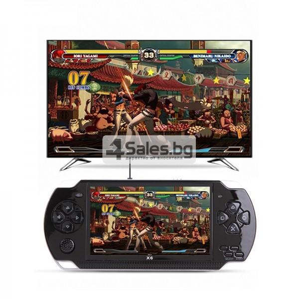 Конзола за игри с 8 GB памет, 4,3 инча дисплей PSP21 4