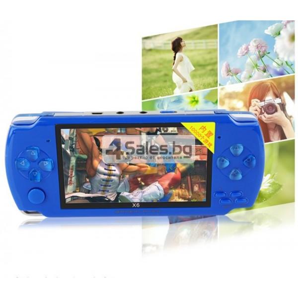 Игрова конзола X6 с 3 MPX камера, издържлива батерия и много функции PSP1 3