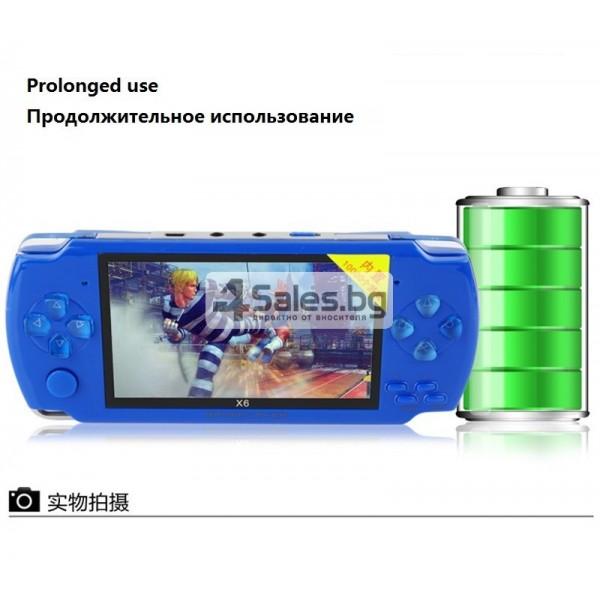 Игрова конзола X6 с 3 MPX камера, издържлива батерия и много функции PSP1 5