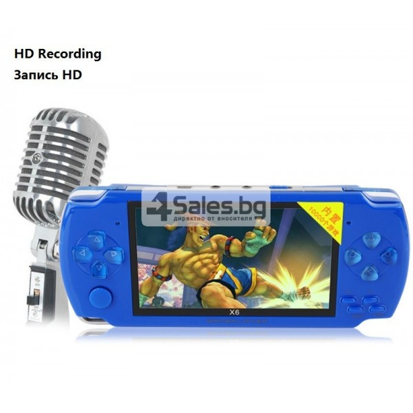 Игрова конзола X6 с 3 MPX камера, издържлива батерия и много функции PSP1 6