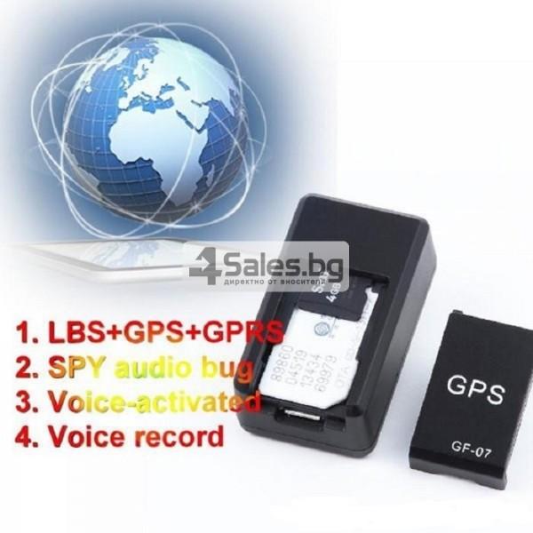 Подслушвателно устройство със СИМ и GPS за проследяване в реално време GF07 3