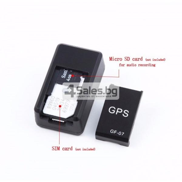 Подслушвателно устройство със СИМ и GPS за проследяване в реално време GF07 4
