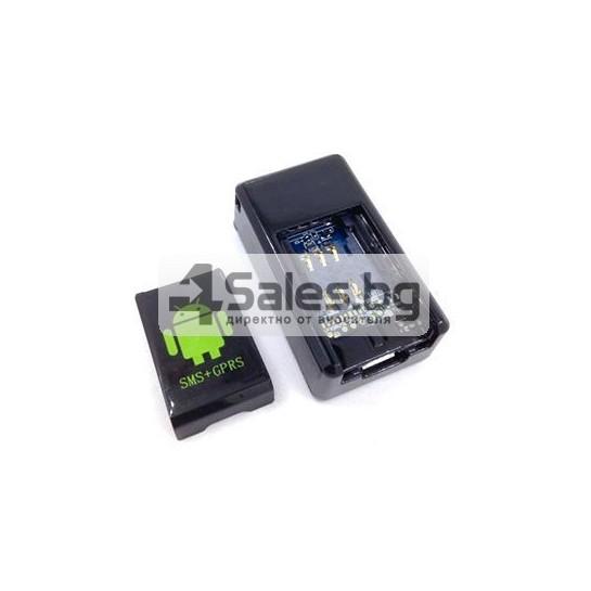 Мини тракер за подслушване и проследяване с GPS, Sim карта и камера GF08