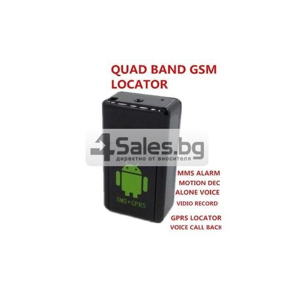 Мини тракер за подслушване и проследяване с GPS, Sim карта и камера GF08 5
