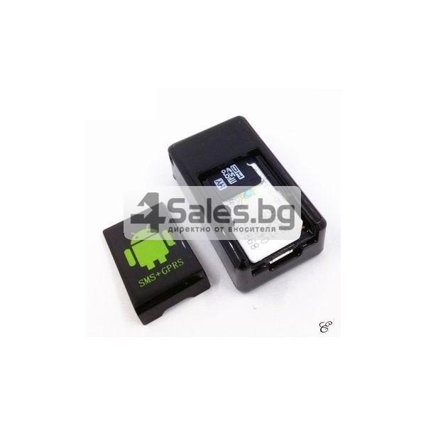 Мини тракер за подслушване и проследяване с GPS, Sim карта и камера GF08 6