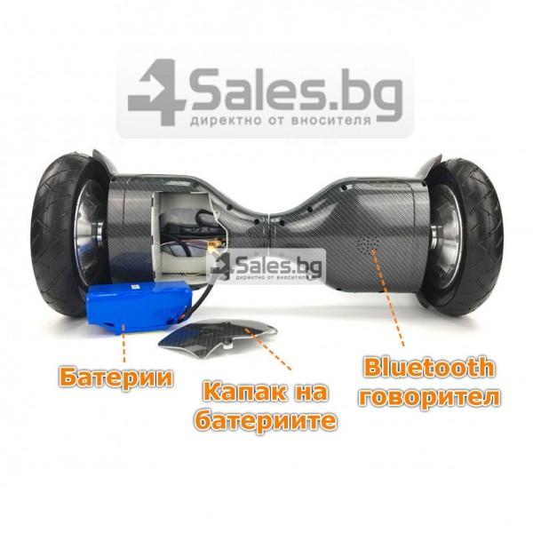 Ховърборд Electric balance scooter 100-240V 50/60hz с четкови двигатели 14
