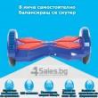 Електрически скейтборд с Bluetooth аудио система iOS и Android 22