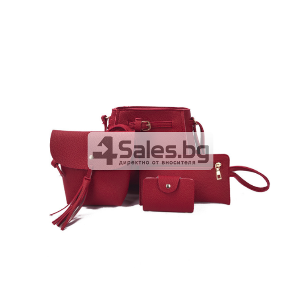 Сет от 4 части ретро стил сак торба BAG54 3