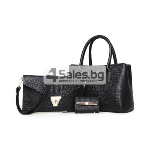 Елегантна комбинация от две чанти и визитник BAG15