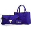 Елегантна комбинация от две чанти и визитник BAG15 2