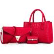 Елегантна комбинация от две чанти и визитник BAG15 3