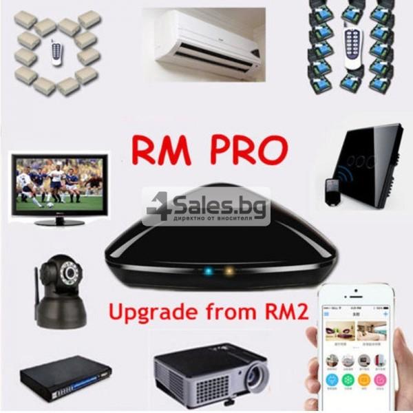 Broadlink RM Pro RM03 – универсално WIFI+IR+RF дистанционно 5