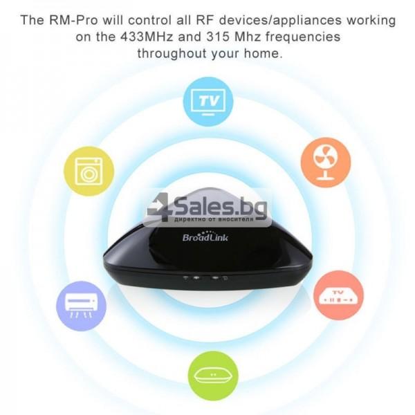 Broadlink RM Pro RM03 – универсално WIFI+IR+RF дистанционно 8