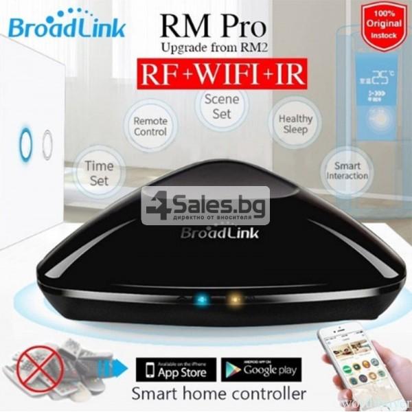 Broadlink RM Pro RM03 – универсално WIFI+IR+RF дистанционно 9
