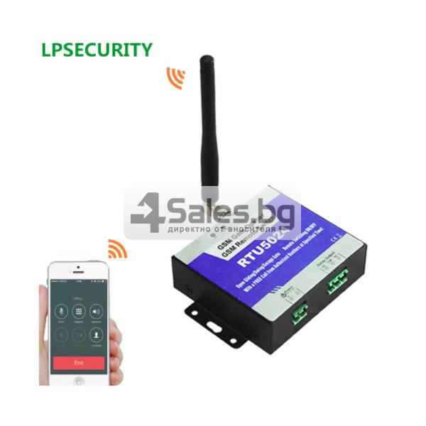 GSM модул за дистанционно отваряне на електрически врати чрез СМС