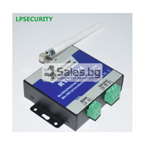 GSM модул за дистанционно отваряне на електрически врати чрез СМС 2