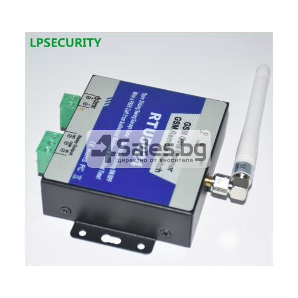 GSM модул за дистанционно отваряне на електрически врати чрез СМС 3
