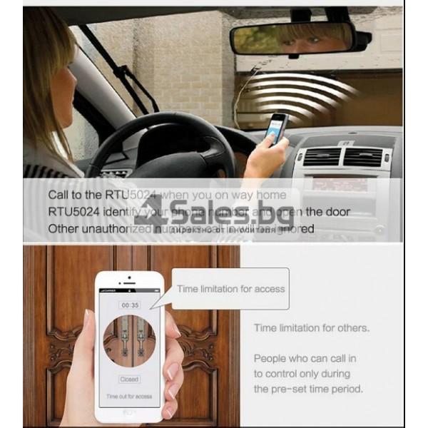 GSM модул за дистанционно отваряне на електрически врати чрез СМС 6
