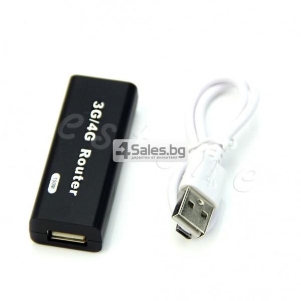 Миниатюрен 3G / 4G USB рутер RJ45 5
