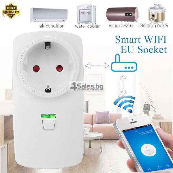 WiFi превключвател за контрол със смартфон 12