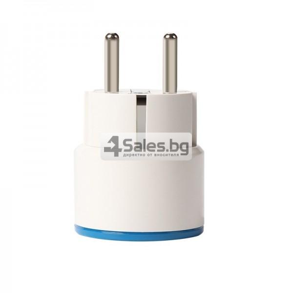 Двуканален превключвател за стена за контрол на светлината 2