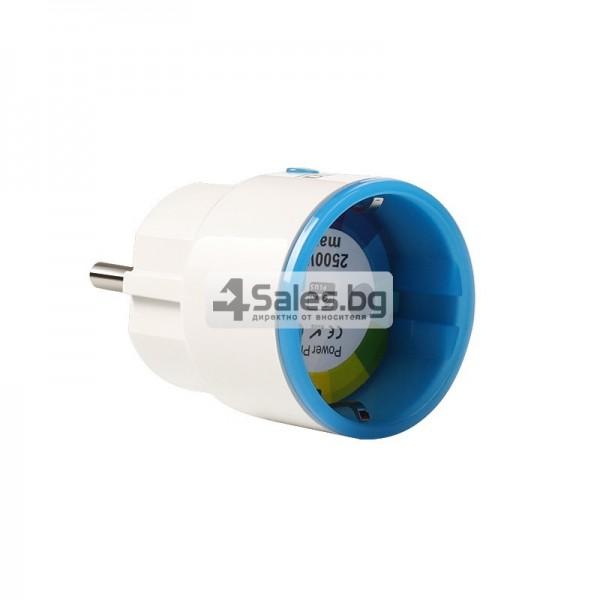 Двуканален превключвател за стена за контрол на светлината 10