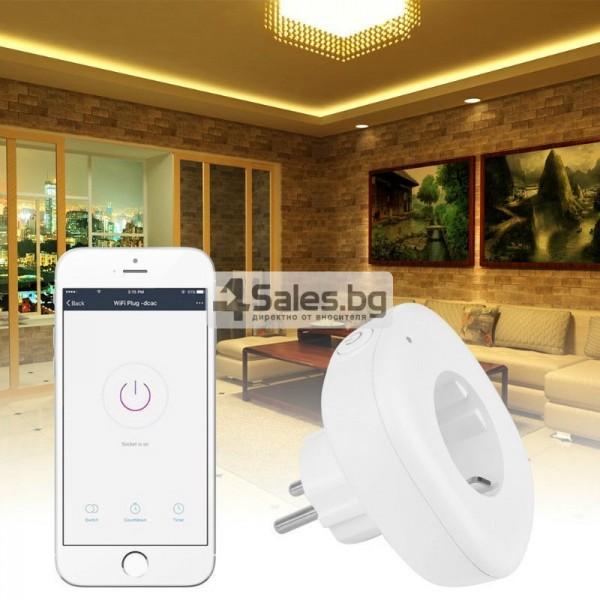 Комплект 2 WiFi плъга за управление с телефон 3