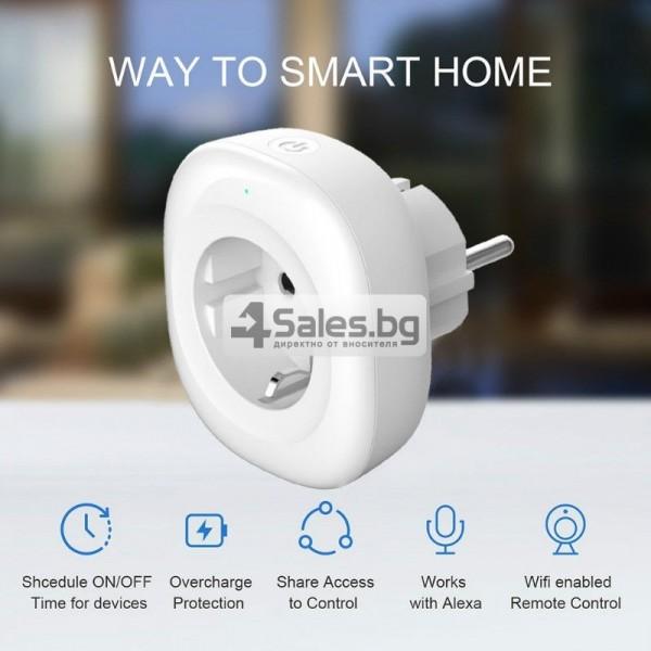 Комплект 2 WiFi плъга за управление с телефон 5