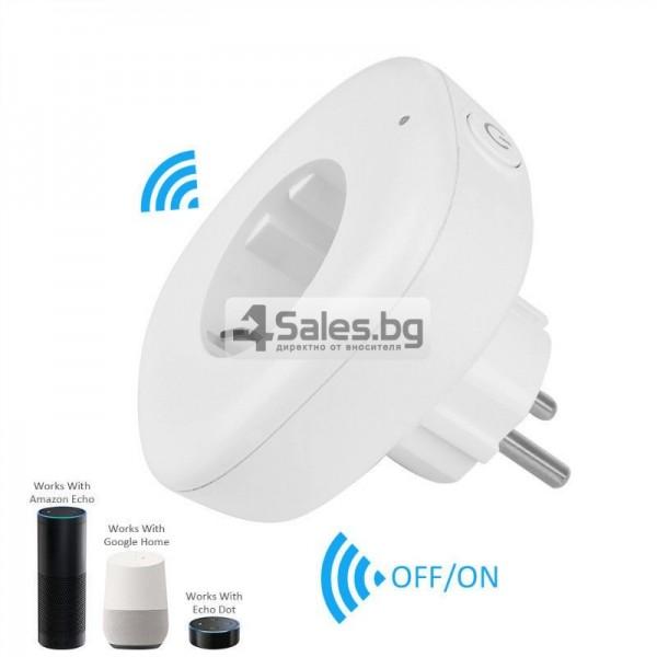 Комплект 2 WiFi плъга за управление с телефон 9