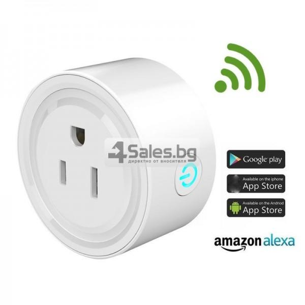 Комплект 5 WiFi плъга за управление с телефон 2