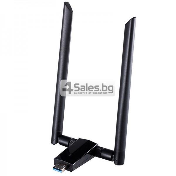 Супер високоскоростен миниатюрен USB Wi-Fi приемник и адаптер 7
