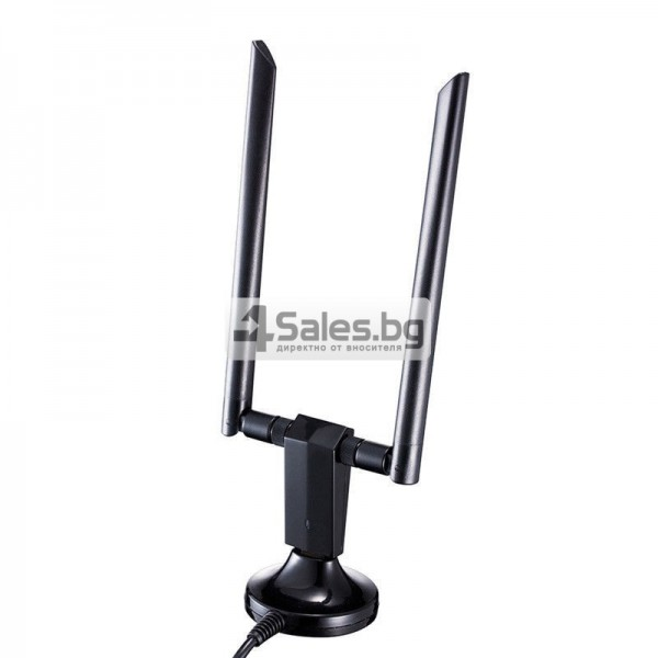 Супер високоскоростен миниатюрен USB Wi-Fi приемник и адаптер 8