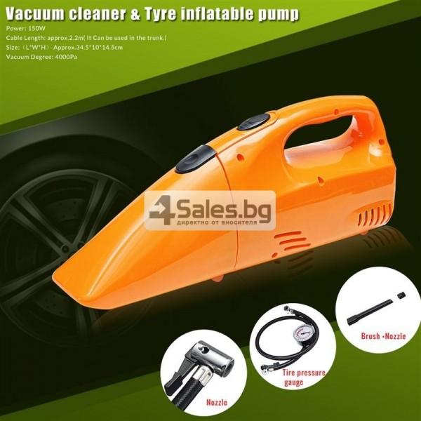Прахосмукачка за кола с манометър 5