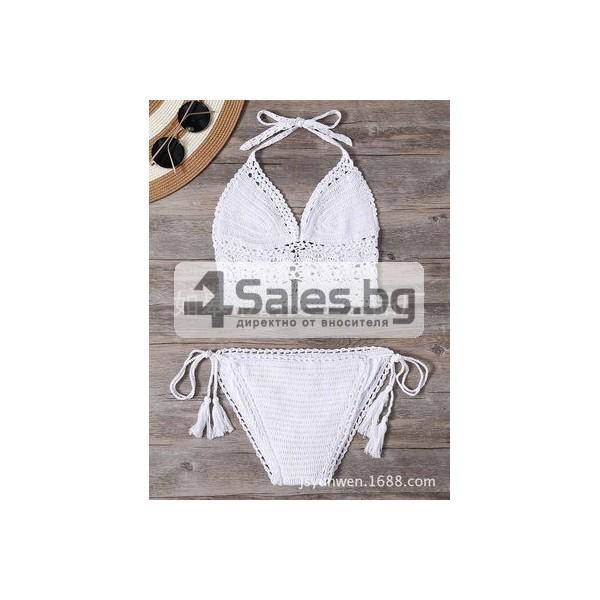 Плажни бикини с бюстие Y22 4