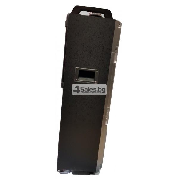 Професионална тонколона с Bluetooth, микрофон, пулт и цветомузика CH6212 2
