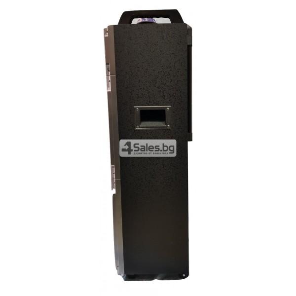Професионална тонколона с Bluetooth, микрофон, пулт и цветомузика CH6212 3