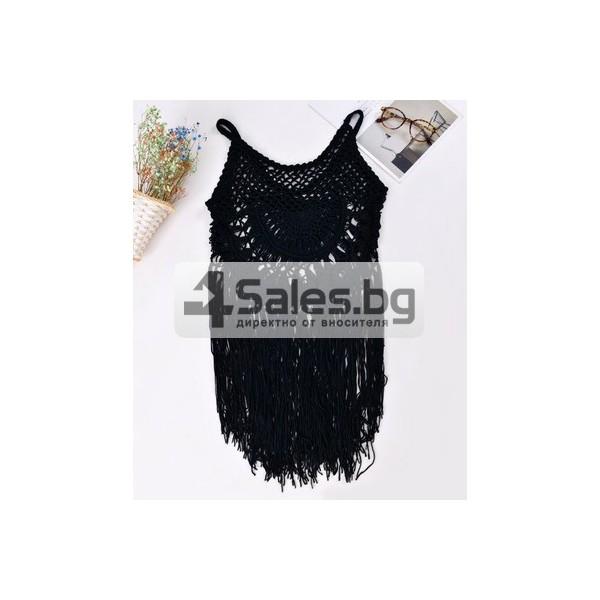 Плетена лятна туника Y18 4