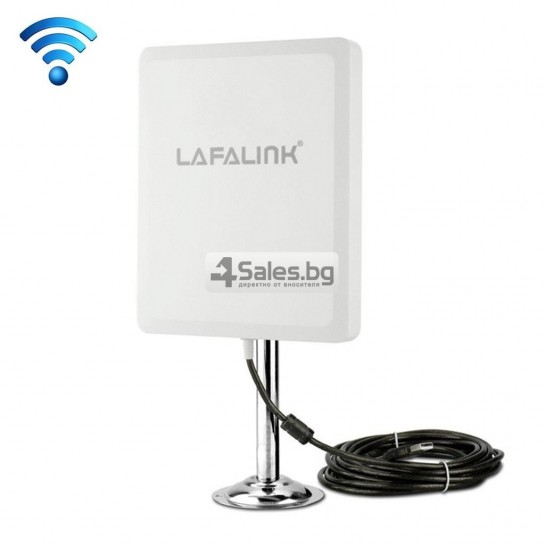 Мощен и бърз WI FI адаптер Lafalink-D660 с USB кабел WF21