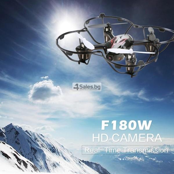 Мини дрон Holy Stone F180W с FPV HD камера и 3D акробатика 12