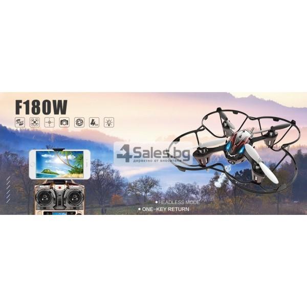 Мини дрон Holy Stone F180W с FPV HD камера и 3D акробатика 15