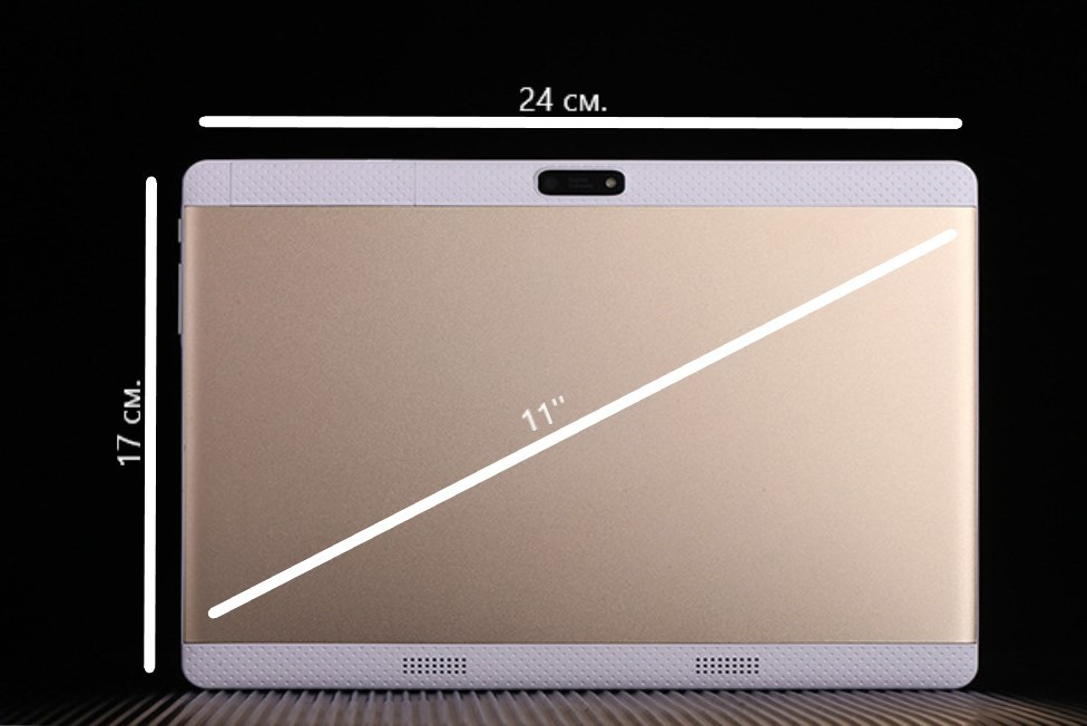 Таблет 11 инча с 4G, GPS, 2 SIM карти и 4GB RAM N119 SAM11 3