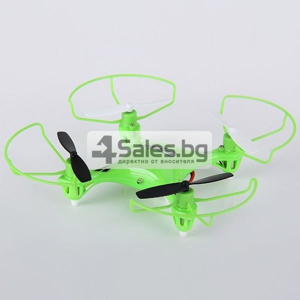 Мини квадрокоптер CX021 с 3D превъртания, полет на обратно и LED светлини 3