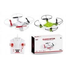 Мини квадрокоптер CX021 с 3D превъртания, полет на обратно и LED светлини
