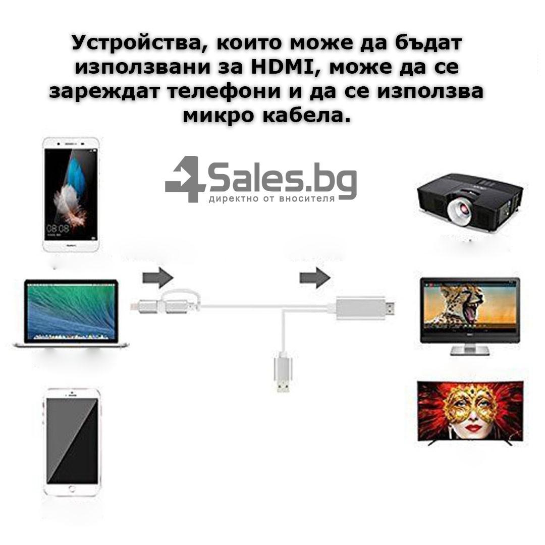 A5-14 Адаптер от Iphone към HDTV CA97 9