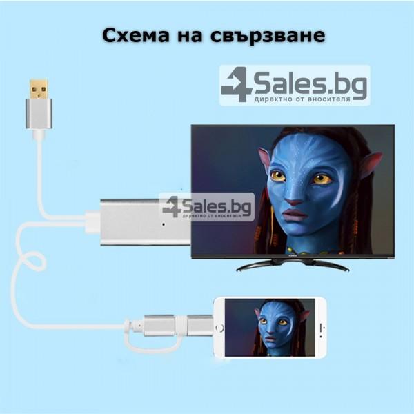 A5-14 Адаптер от Iphone към HDTV CA97 12
