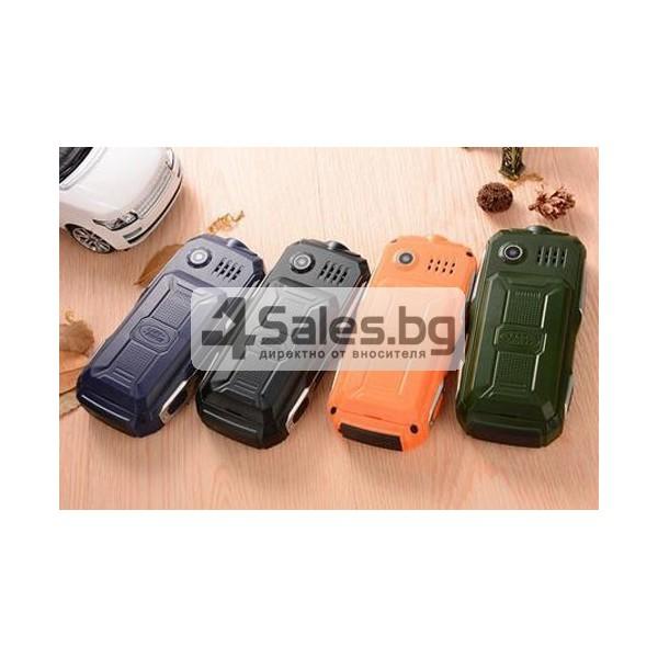 Противоударен телефон-фенер с Power Bank батерия, 2 SIM карти ОЕМ C9 1